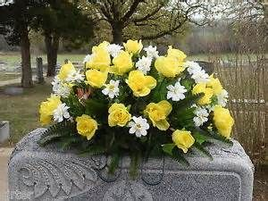 Flower saddle for tombstones - Bing Images