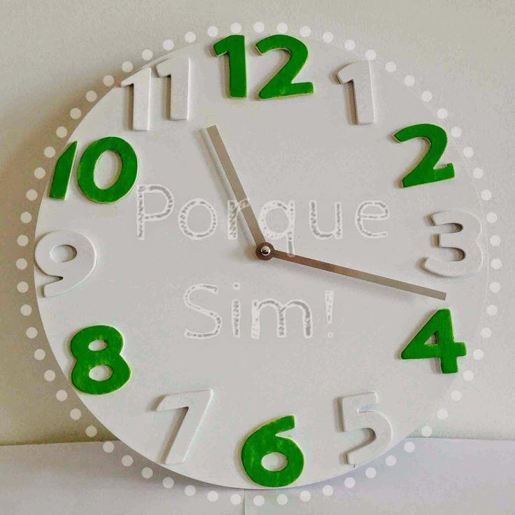 Porque Sim!: Relógio Verde