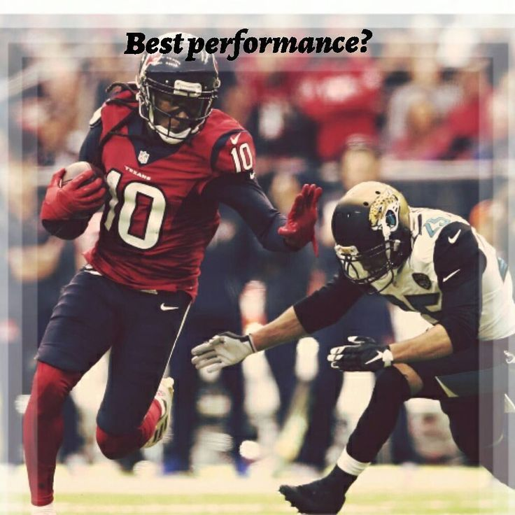 Which performance was most dominant?  ~  A. Jonathan Joseph (vs cle)  • 2 interceptions  • 3 passes defensed  • 82 yard pick six  • 1 tackle for loss  -  B. Deandre Hopkins (vs sea)  • 224 yards  • 8 receptions  • 11 Targets  • 1 Touchdown  -  C. Jadaveon Clowney (vs ari)  • 2 Sacks  • 2 Run Stuffs  • 4 Tackles for loss  -  D. Deshaun Watson (vs ten)  • 307 total yards  • 4 passing TD  • 1 rushing TD  • 73.5 completion %  -  #deandrehopkins #deshaunwatson #johnathanjoseph #clowney #texans