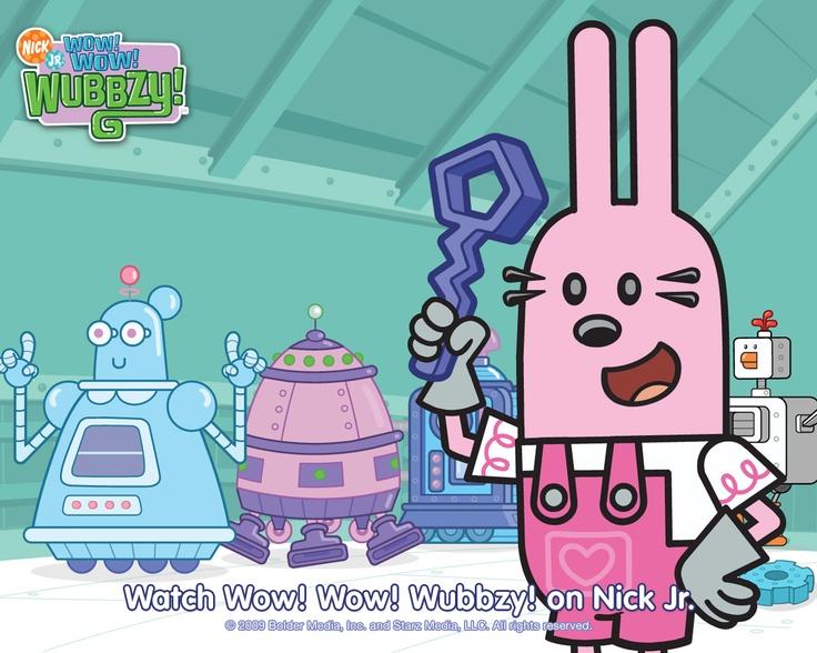 Wubbzy Widget S Build A Robot