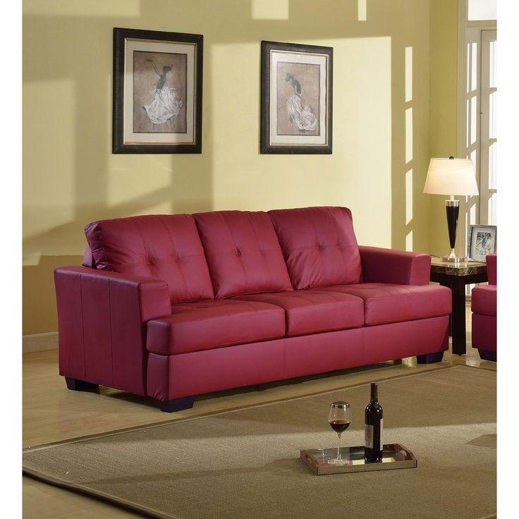 Nova Bonded Leather Sofa