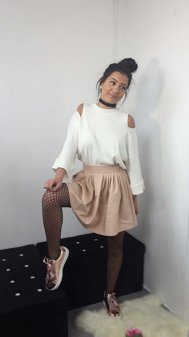 www.rqueen42.com produit jupe-cuir-volant-en-rose