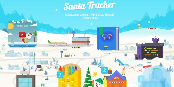 As it does every year, Google has updated its Santa Tracker portal and companion app with fun new coloring, coding and learning activities.