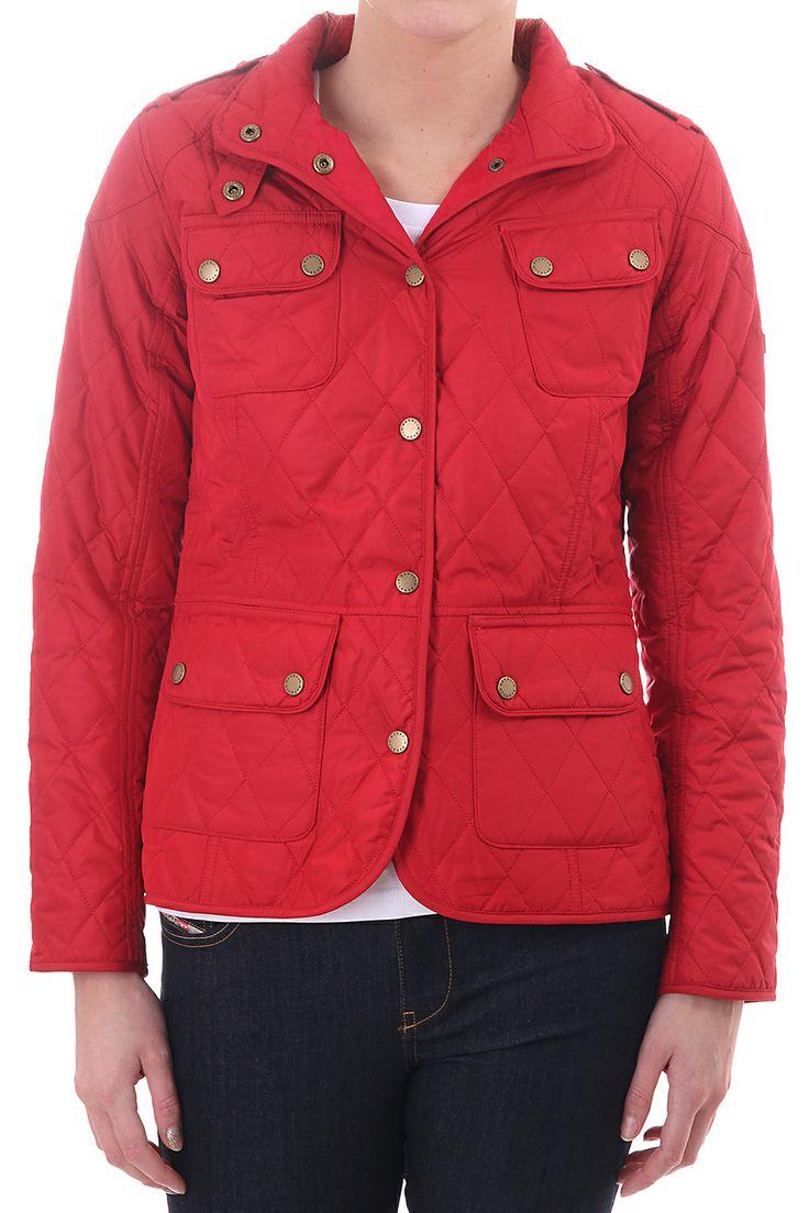Barbour womens international jacket, Red  https://www.blueberries-online.com/brandcategorylanding/1532/331/barbour-womens/barbour-womens.html