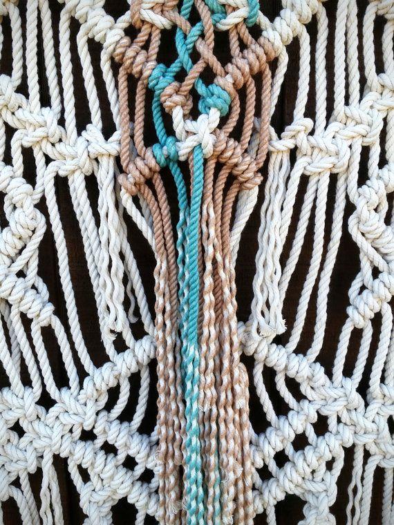 M s de 20 ideas incre bles sobre tapices de macram en - Tapices de macrame ...
