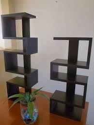 Resultado de imagen para repisas esquineras de madera modernas