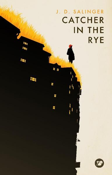 """Catcher in the Rye"" // Levente Szabo -Not my favourite book in the world, but it's definitely my favourite cover."
