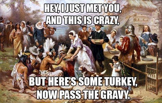 10 Hilarious Thanksgiving Memes | Her Campus