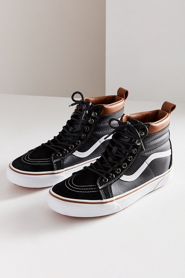 new product bc7f4 1f590 Slide View 2 Vans Sk8-Hi MTE Leather Sneaker