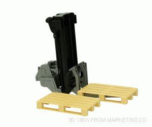 Forklift for Mounting including 2 Pallets Bruder 02337