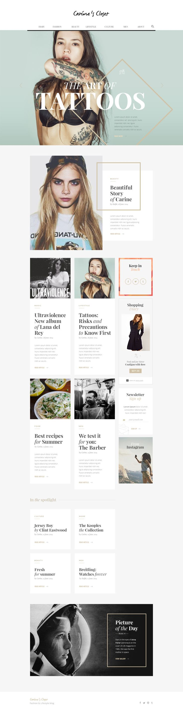 17 Best ideas about Newsletter Layout on Pinterest | Newsletter ...