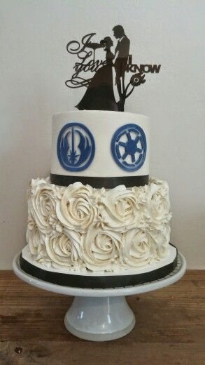 Star Wars Wedding Cake Topper Today Pin
