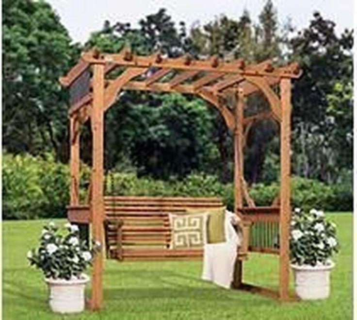 50 Pergola Designs: Awesome 50 Lovely Rustic Backyard Design Ideas.