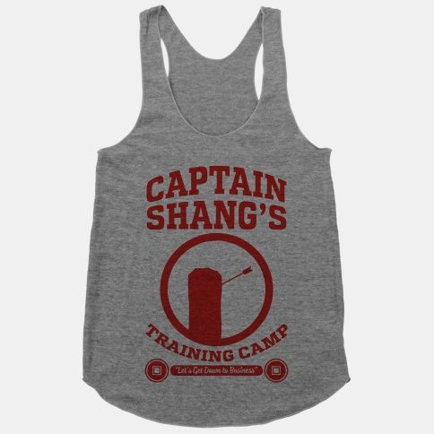 Captain Shang's Training Camp | T-Shirts, Tank Tops, Sweatshirts and Hoodies | HUMAN