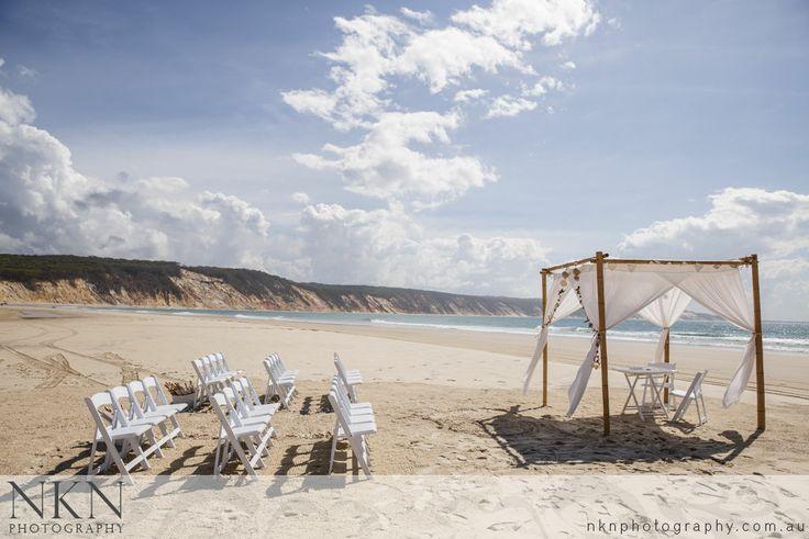 Double Island Point Wedding Photography - Rainbow Beach - Melissa and Travis - NKN Photography