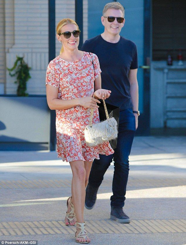 A couple that shops together... Cat Deeley and her husband Patrick Kielty were spotted shopping at Barneys in New York in Beverly Hills, California, on Wednesday