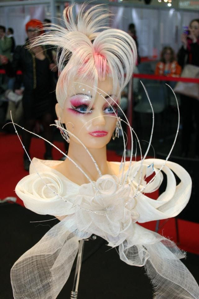 Mannequin Hair presentation at OMC competition