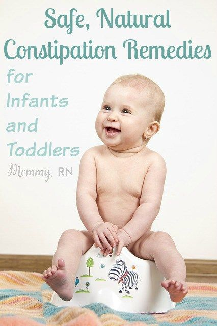 Safe, Natural Remedies for Constipation in Infants and Toddlers