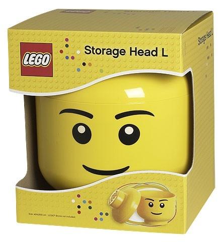 Opberg box head boy small | Head boy / girl Lego | itsapresent