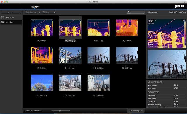 Termografia: Flir ir Tools per Mac