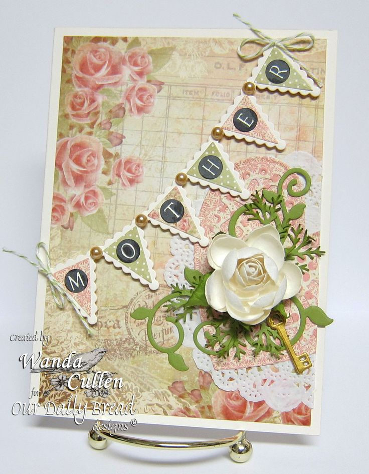 178 best odbd blushing rose paper collection images on for Handmade paper creations