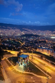 I would love to go to Medellin, Colombia! My dad was born here and i have never been.