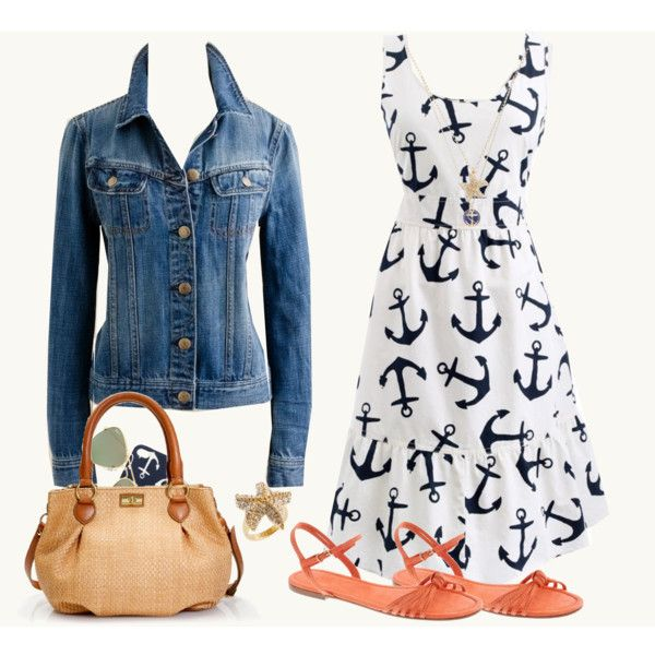 """Nautical Love"" by tjmcd on Polyvore"
