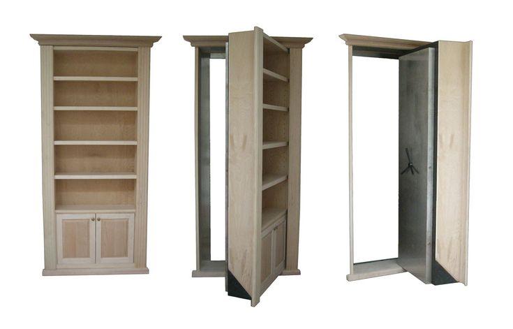 book case hidden door: Hidden Doors Bookcases, Houses Ideas, Offices Doors, Secret Passageway, Secret Doors, Hidden Rooms, Secret Rooms, Hiddenpassageway Com Ideas, Books Cases