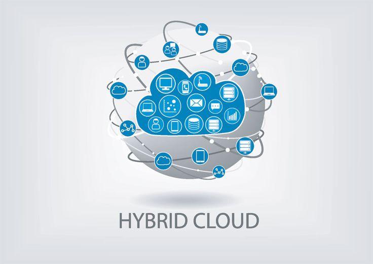 hybrid cloud vector