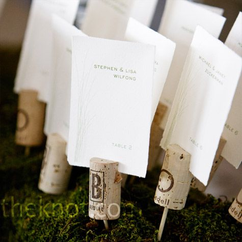 Or this way...: Wine Corks, Cards Ideas, Escort Cards, Cards Holders, Tables Numbers, Vineyard Wedding, Corks Ideas, Places Cards, Corks Escort