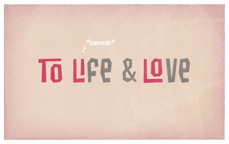 To life & love! Cheers! Find Cool Beans on #FontShop! #fonts #typography