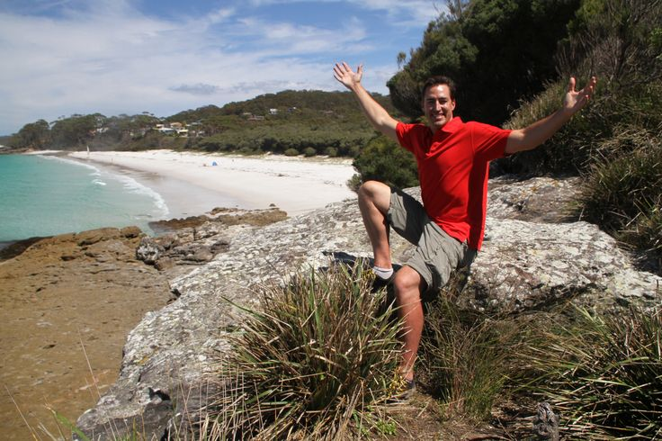 #BehindTheScenes Clint in #JervisBay #Australia #OnLocation #PlacesWeGoTV #PWG #Placeswego