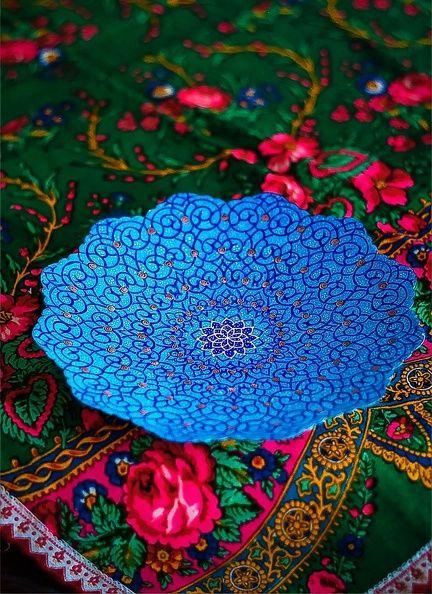 The iranian handicraft art of minakari