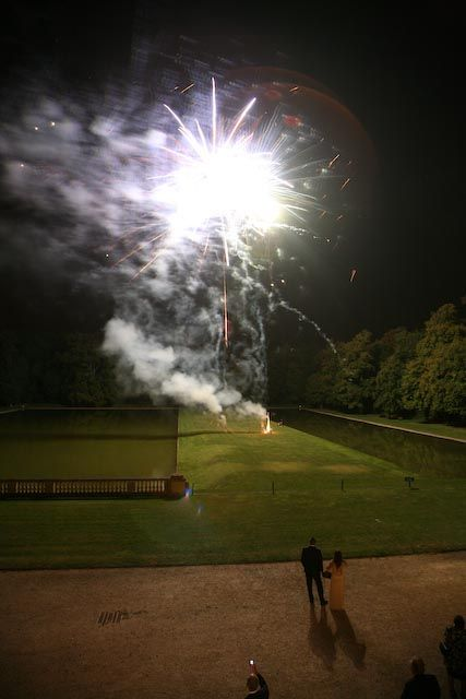 Feux d'artifice, agence organisation mariage 78