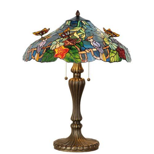 TIFFANY-Tischlampe WATERVILLE.
