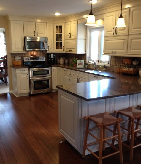 Maple Mocha Glaze Cabinets Best Colors Kitchens Reface