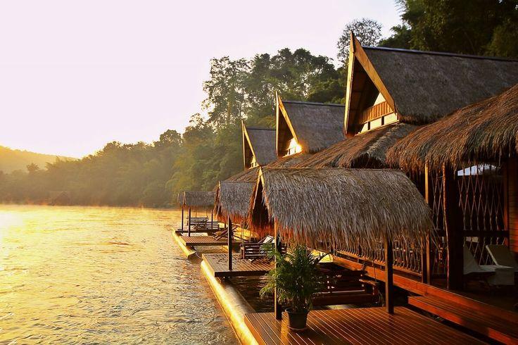L'hôtel bungalow The Float House River Kwai