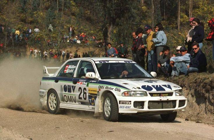 1998 Mitsubishi Lancer Evo 3-Manfred Stohl-Peter Müller-18eme