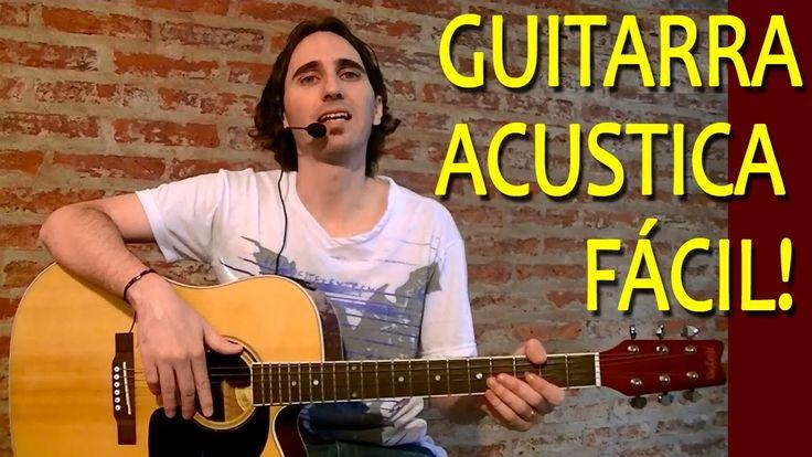 Como Aprender a Tocar Guitarra Acústica Para Principiantes / Ejercicios ...