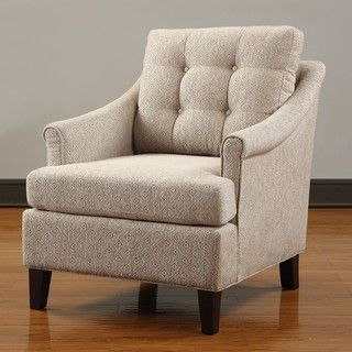 @Overstock - Charleston Club Chair. This fine-looking club chair can make you feel like royalty with the amazing comfort and the remarkable aesthetic value it brings to any room. Its simple but stylish design will make heads turn and inject a dash of elegance into your home.http://www.overstock.com/Home-Garden/Charleston-Club-Chair/6432875/product.html?CID=214117 $289.99