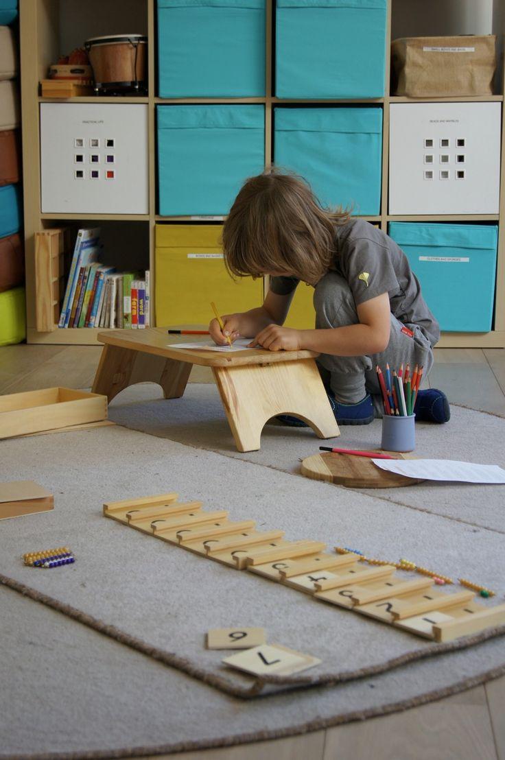 przedszkole ilovemontessori warszawa- praca własna dzieci w klasie montessori