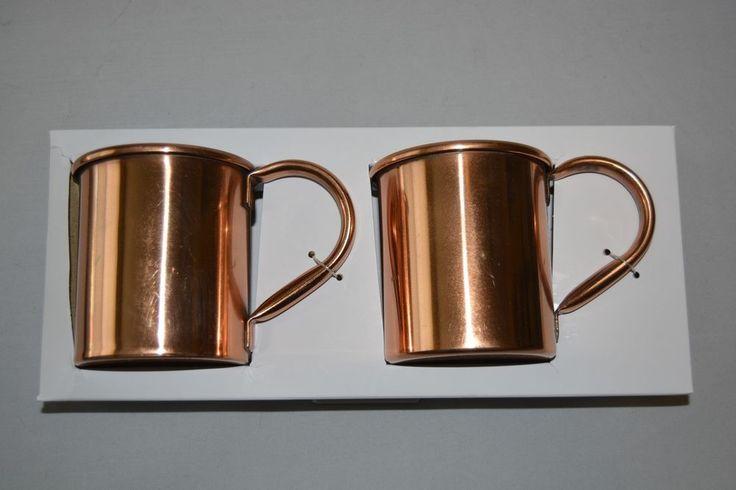Revised Price! $.99 Starting bid! Threshold Copper Mugs