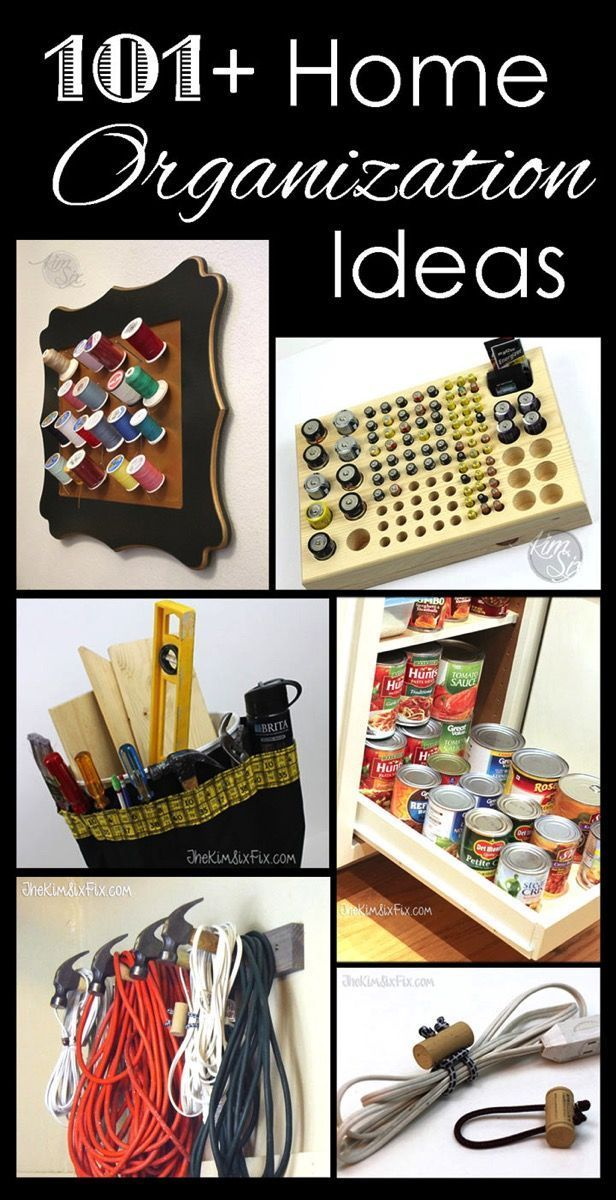 101+ Home Cleaning and Organization Ideas. What a fantastic roundup of tips and tricks to get your home organized! .jpg