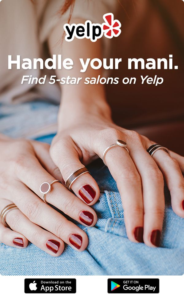 Download Yelp To Book An Appointment At A 5 Star Nail Salon Seasonal Nails Fall Manicure Manicure And Pedicure