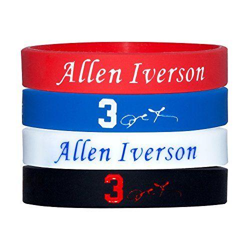 Silicone Wristband Bracelet NBA,-- Allen Iverson-- more N... https://www.amazon.com/dp/B01LWK55RI/ref=cm_sw_r_pi_dp_x_u4S7xbGD42GZ7
