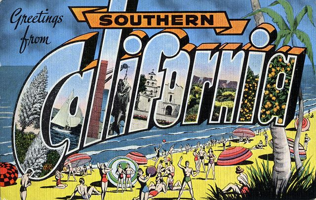 Greetings from Southern California - Large Letter Postcard by Shook Photos, via Flickr