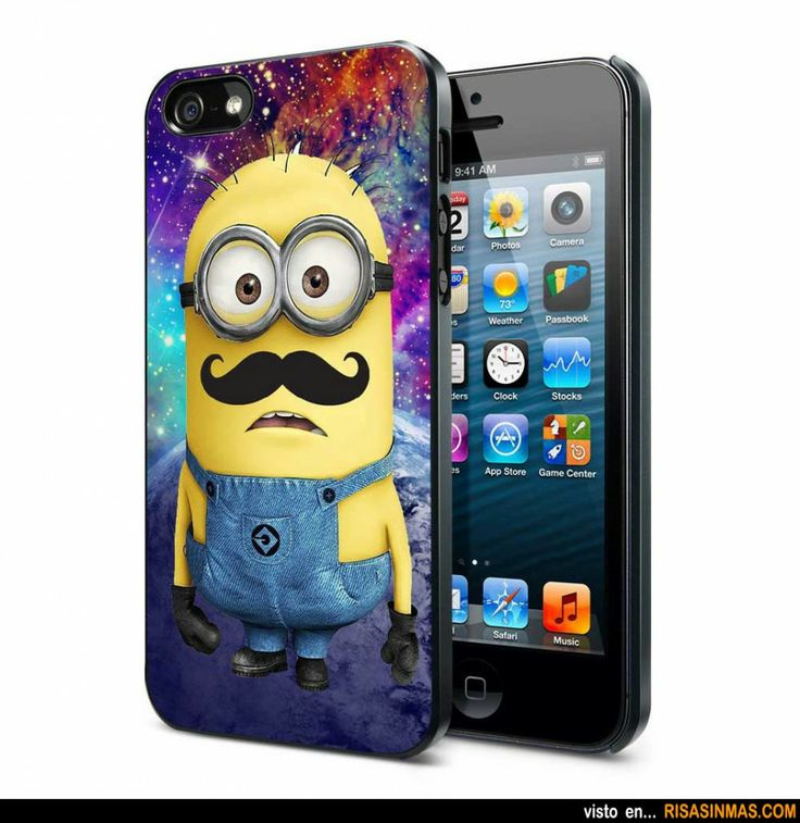 Funda iPhone Minions.