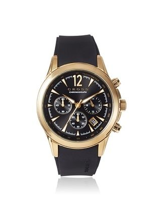 54% OFF Cross Men's CR8011-04 Agency Black/Gold Stainless Steel Watch
