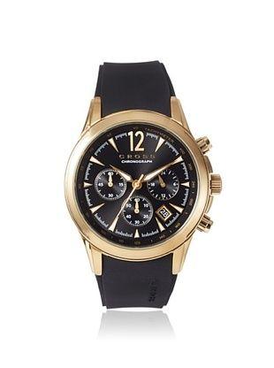 54% OFF Cross Men's CR8011-04 Agency Black/Gold Stainless Steel Watch