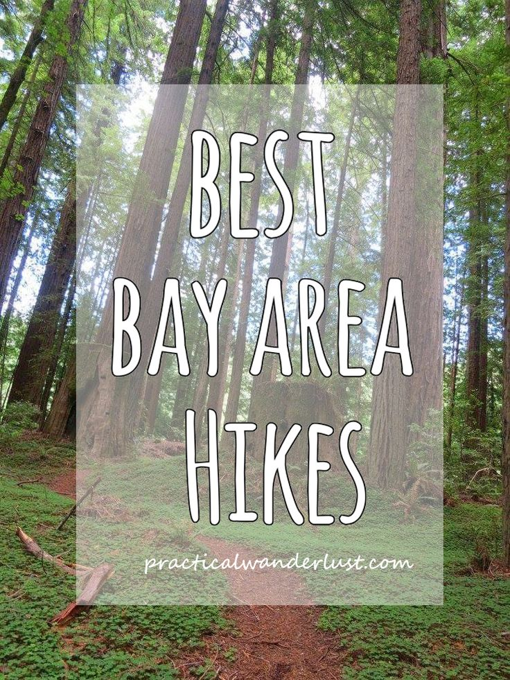 8 amazing hikes in the California Bay Area including Big Sur, Lake Tahoe, Desolation Wilderness, Point Reyes, old and new growth redwoods, Oakland, and more.